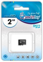 Карта памяти Micro SD Smartbuy 2 GB (без
