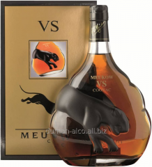 Meukow VS cognac with box of 0,5 l.