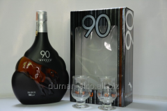 Meukow 90 Proof with gift box 0,7l cognac.