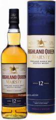 Highland Queen Single Malt Scotch 12 Y.O whisky.