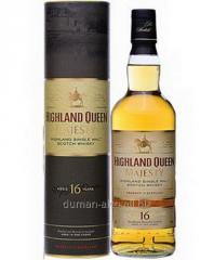 Highland Queen Single Malt Scotch 16 Y.O whisky.