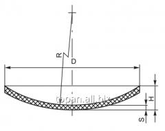 Крышка типа часовое стекло 50х1,5 мм
