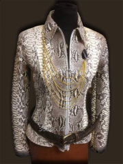 Leather of python 03