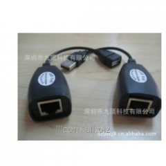 USB RJ45 Extension adapter up to 100m adapter