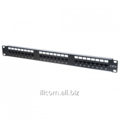Patch panel of APP6-024-004 CAT6 UTP 24Port Patch