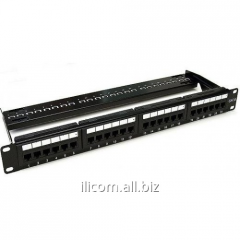 Patch panel of APP6A-CAT6A SSTP 24Port Patch Panel