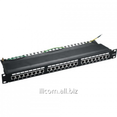 Patch panel of APP6AS-24-S01 CAT6a FTP 24Port