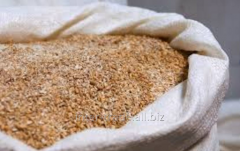 The shredded barley which is packed up TM Atbasar