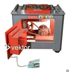 Гибщик арматуры Vektor, cтанок для гибки арматуры GW40 3кВт