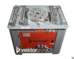Гибщик арматуры Vektor, cтанок длякибкиGW-50 С возвратным механизмом