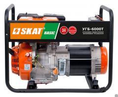 Бензиновая электростаниция SKAT УГБ-6000Т Basic трехфазная