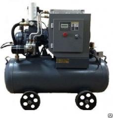 Screw compressors of small productivity with Dali