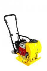 Бензиновая виброплита VPG-90B (двигатель LIFAN) с баком для воды и колесами