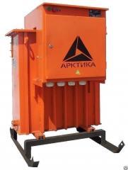 Масляный прогревочный трансформатор для бетона