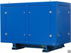 The diesel AD-60S-T400 generator in a casing with