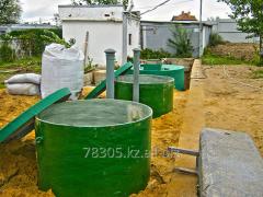Rain stormwater drainage system