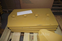 Spare parts for road-building equipment, spare