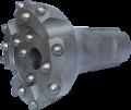 Crown for pneumoshock drilling of K-155/P-155