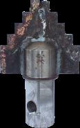 Chisel 2-bladed D198 (Sh-55)