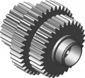 Block gear wheels 2-37-107 to a rotator 2-37B-00