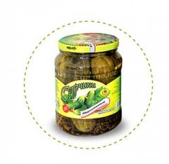 Cucumbers marinated 9-12 cm 2 l