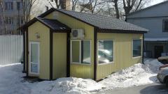 Каркасные Дома из металлоконструкции
