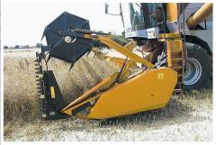 Grain harvester of PowerFlow, Harvester grain