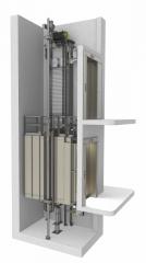 Пассажирский лифт без машинного помещения