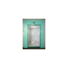 Freight elevator with a loading capacity of 100,