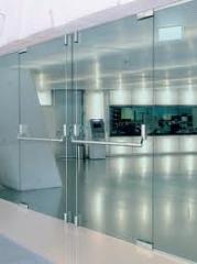 Doors entrance glass