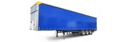 Semi-trailer tentovanny PMP Servis