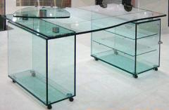 Glass table-tops