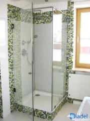 Shower partitions glass