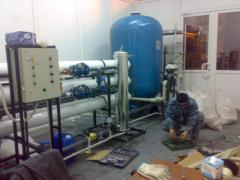 Systems complex water purification