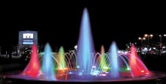 Light organ fountains