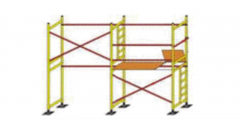 Added bricklayer's scaffold frame LSPR-200