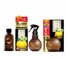 The recovering Japanese hair oil and scalp - Utena