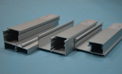 Aluminum profiles from an alloy of AA 6063 and AA