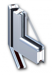 Materials for production of windows and doors (AA