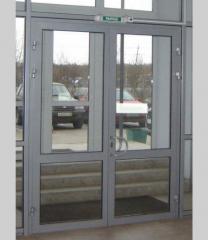 Metalwork door (AA 6063 and AA 6060 aluminum
