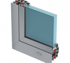 Window profiles (alloy of AA 6063 and AA 6060)