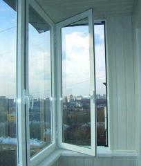 Window frames (AA 6063 and AA 6060 profile alloy)