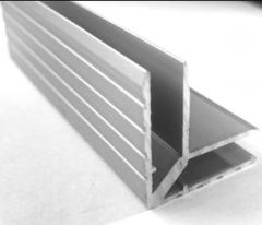 Profiles angular aluminum (alloy of AA 6063 and AA