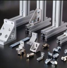 Machine aluminum shape (alloy of AA 6063 and AA