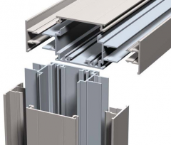 Profile systems aluminum (alloy of AA 6063 and AA