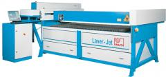 Installation of laser cutting - Laser-Jet 2512 SM