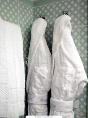 Халаты махровые банные