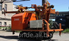 The drilling rig self-propelled TITAN with the