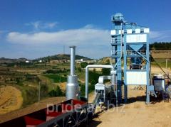 The ABZ S80 asphalt concrete plant is stationary