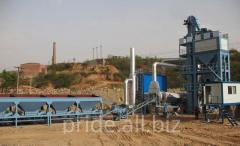 The ABZ S100 asphalt concrete plant is stationary